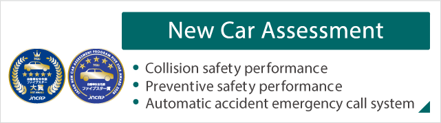 New Car Assesment Collision safety performance,Preventive safety performance